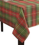 Benson Mills Christmas Plaid Printed Tablecloth, 60-Inch by 84-Inch