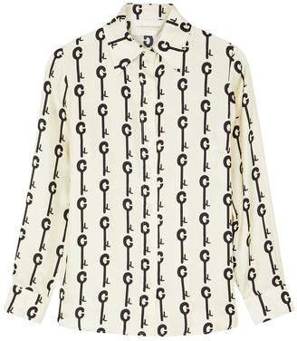 La Prestic Ouiston Joana Ivory Silk Blouse