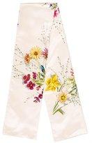 Hermes Floral Print Stole