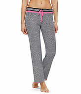 Kensie Houndstooth Jersey Sleep Pants