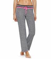 Kensie Houndstooth Jersey Sleep Pants