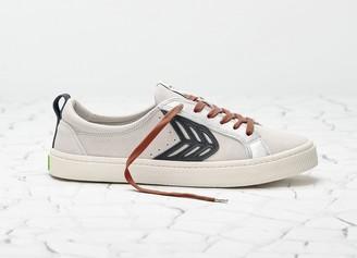 Cariuma CATIBA Low Ice/Black Suede Sneaker Men