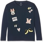 Name It Girl's Nitminnie Radella Ls Nmt Wdi Long Sleeve Top