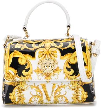 Versace Baroque Logo Tote