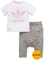 adidas Baby Girl Nomad Tee/legging Set