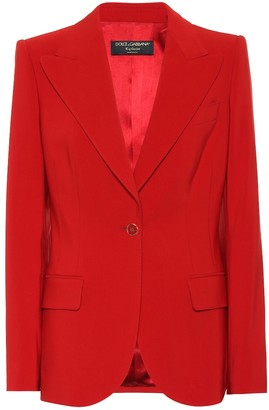Dolce & Gabbana Exclusive to Mytheresa Cotton-blend blazer