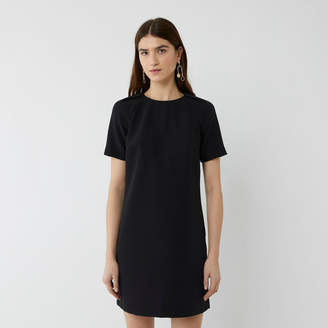 Warehouse SHORT SLEEVE MINI SHIFT DRESS