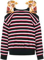 MSGM shoulder tie sweater