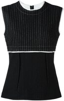 DKNY pinstripe tank top