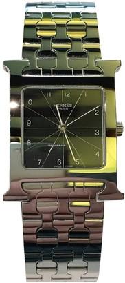 Hermes Heure H Silver Steel Watches