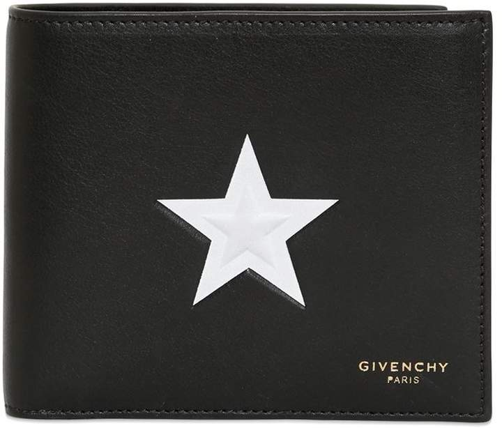 Givenchy Embossed Star Classic Wallet