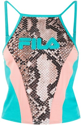 Fila Panelled Cropped Top