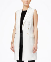 INC International Concepts Petite Military-Style Vest, Only at Macy's