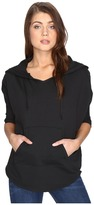 Alternative Vintage Sport French Terry Gameday Poncho Women's Sweater