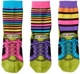 LittleMissMatched Girls 4-9 Little Miss Matched 3-pk. Sneaker Anklet Socks