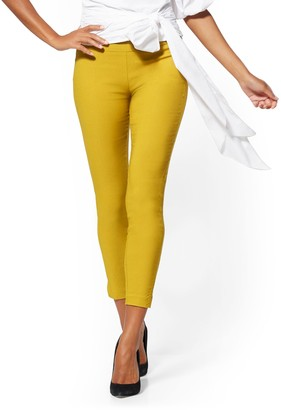New York & Co. Petite Whitney High-Waisted Pull-On Ankle Pant