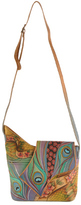 Anuschka Women's Small Asymmetric Flap Bag