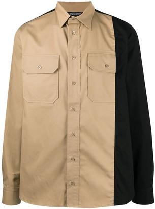 Neil Barrett Two-Tone Buttoned Shirt