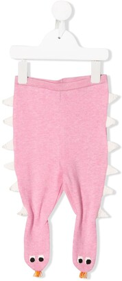 Stella McCartney monster knitted trousers