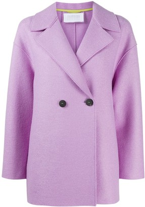 Harris Wharf London Double-Breasted Fitted Coat