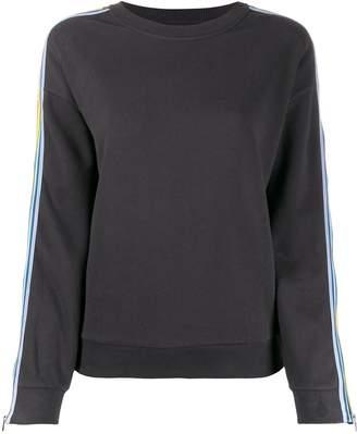 BA&SH Zac striped sleeve sweatshirt