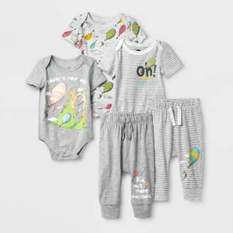 Dr. Seuss Baby 5pk Dr.Seuss Bodysuits and Pants Set