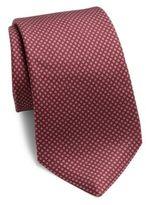 Kiton Printed Silk Tie