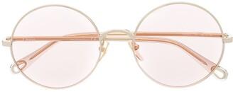 Chloé Round-Frame Sunglasses