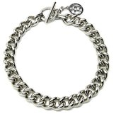 Ben-Amun Classic Silver Chain Link Necklace
