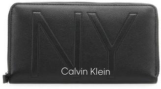 Calvin Klein Black Ny Wallet