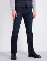 Ralph Lauren Purple Label Slim-fit straight stretch-denim jeans
