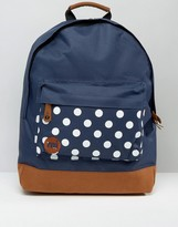 Mi-Pac Mi Pac Polka Dot Pocket Backpack