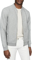 Reiss Devon Slim Fit Knit Bomber Jacket