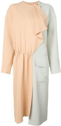 Tibi colourblock dress