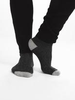White + Warren Mens Cashmere Rib Socks