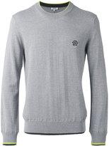 Kenzo long sleeve sweater - men - Cotton/Polyamide - L