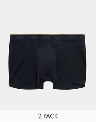 Trunks Nike Training Plus boxer 2 pack in black