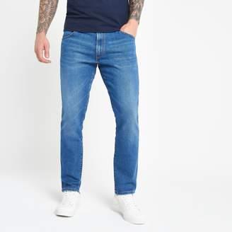 Wrangler Mens River Island light Blue slim fit jeans