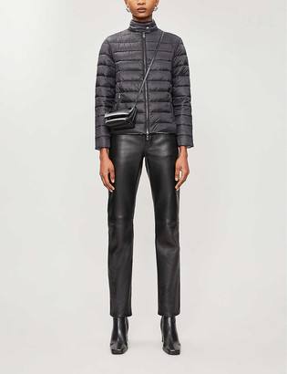 Emporio Armani Quilted shell jacket