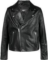 Yang Li fitted biker jacket