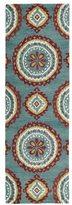 Leon Hand-tufted de Turquoise Rug (2'6 x 8')
