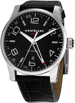 Montblanc Mont Blanc Men's 36065 Timewalker Black Dial Watch