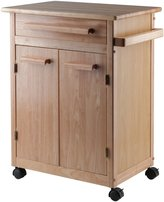 Winsome Wood Single Drawer Storage Cart