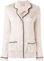 Laneus knit cardigan blazer - women - Acetate/Viscose - 38