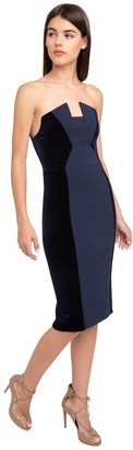 Black Halo Lena Color Block Sheath