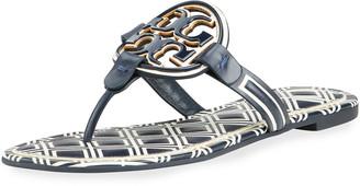 Tory Burch Miller Medallion Thong Sandals