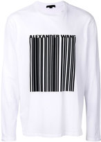 Alexander Wang bar code T-shirt