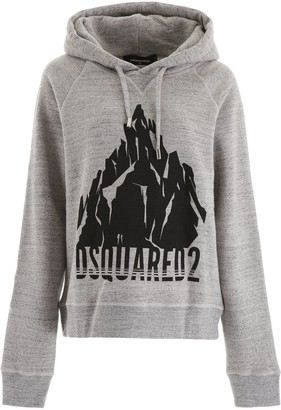 DSQUARED2 Printed Hooded Sweater