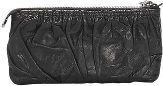Gucci Black Leather Galaxy Wallet