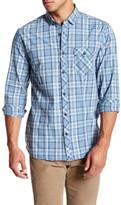 Jeremiah Jordan Plain Weave Plaid Shirt
